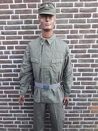 Combatgroep werknemers, zomeruniform, 1971 - 1989