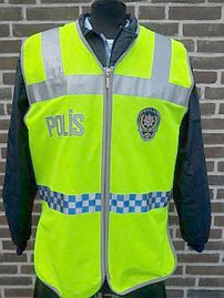 Nationale politie, veiligheidsvest