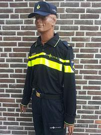 Uniform van Wouter de Vries, oud voorlichter politie Noord Nederland