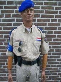 EU politie missie Afghanista, 2011 - 2012, met dank aan brigadier Tjitte V.
