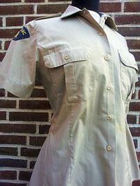 Royal Canadian Mounted Police, damesshirt, eind jaren tachtig