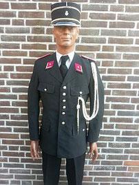 Gemeentepolitie, 1e inspecteur, in gebruik tot 01-01-2002