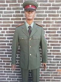 Nationale politie, pre 1989, majoor