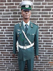 Volkspolitie, afdeling verkeer, hoofdagent, 1980 - 1989