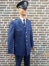 Nationale politie dienst, agent 2e klasse, vanaf 1990