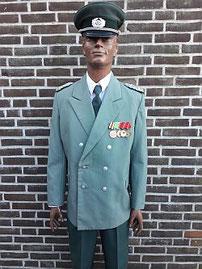 Volkspolitie, landdienst, majoor, uitgaanstenue, 1975 - 1985