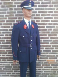 Rijkswacht, adjudant, dagelijkse tenue rond 1970