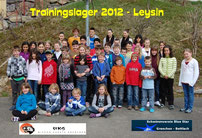 Trainingslager Leysin