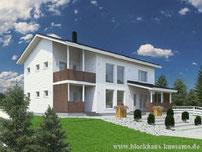 Massivholzhaus als Eigenheim