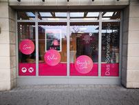 Fassadenfolierung und Werbefolierung mit igitaldruckfolie durch firma Wrap-expert