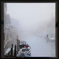 Nebel im Kanal Venedig