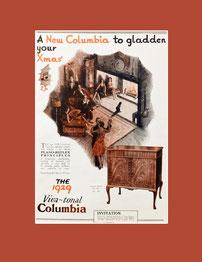 Columbia gramophones