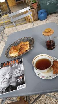 paquets de thés de chez Saveurs et Harmonie