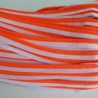 orange-weiß