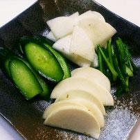 夏野菜のお漬物