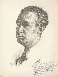 A.Bilis  Auto portrait 1928