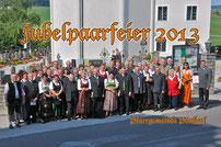 Mit dem Pfarrer Alois Maier