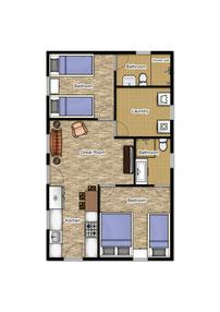 Cabin Floorplan