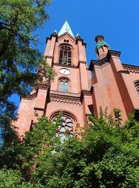 Ev. Gethsemane-Kirche Prenzlauer Berg. Foto: Helga Karl