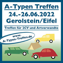 A-Typen Treffen Kyllburg Eifel Düssel Ducks 2CV Düsseldorf