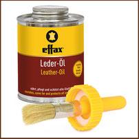 Leder-Öl EFFAX mit Pinsel