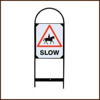 Reitsport Heiniger - Steckschild Slow Paar