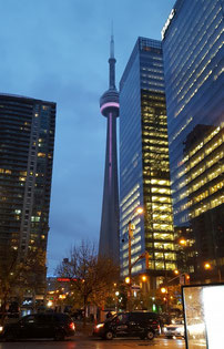 The last time we had this event, even the CN Tower was lit purple!