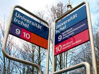 Tramhaltestelle Universität Irchel