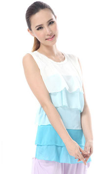 nursing top color sky blue