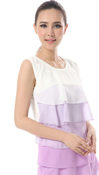 nursing top purple