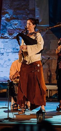 Petra(Rauschpfeife,Davul,Feuershow)