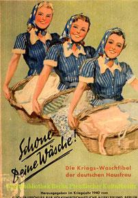 Titelblatt der zweiten Waschfibel, 1940. Staatsbibliothek Preuss. Kulturbesitz.