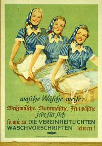 Titelblatt der ersten Waschfibel, Sommer 1939.