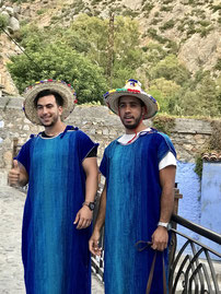 モロッコ人男性の愛情表現は豊です/青い街シャウエン在住 実加のブログ