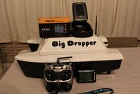 voerboten, baitboats, visvinder, fishfinder, visvinders, fishfinders, Toslon TF 300 , Toslon TF500 , Toslon TF640 , Toslon TF650 , Toslon TF740 , Toslon TF750, Big Dropper  , karper , carp , karpers , karpervissers , Carps , vissen met voerboten, Toslon ,