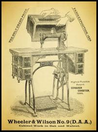 1890 The Sewing Machine Gazette
