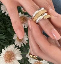 "Silver Ring ""Raffinesse"""