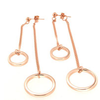 "Double Circle earrings ""Doppietta"""