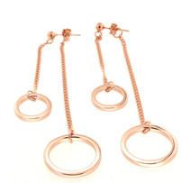 """Double Circle earrings """"Doppietta"""""""