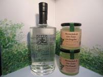 Ginebra Gingreen málaga y nuevas versiones de nuestra mermelada de gin tonic.