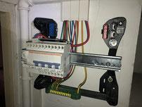 Tableau electrique avec interrupteur differentiel 30ma appartement marseille rue prosper gresy marseille 13006