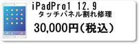 iPadPro1 12.9タッチパネル割れ修理 ipadアイパッド修理なら広島市中区紙屋町本通り近くのミスターアイフィクス広島で修理
