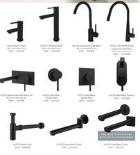 Fienza Hustle Range mixers spouts showers chrome