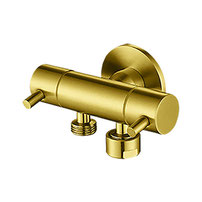 Classic dual control mini cistern cock for handspray - PVD Gold,  $99.00 on backorder