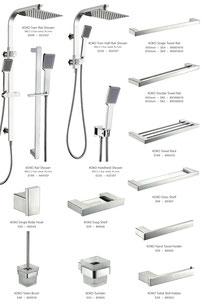 Fienza Koko tapware mixers showers accessories chrome, matt black