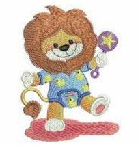 Tanzender Pyjama-Löwe