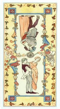 Decameron Tarot - Érotique - Dos