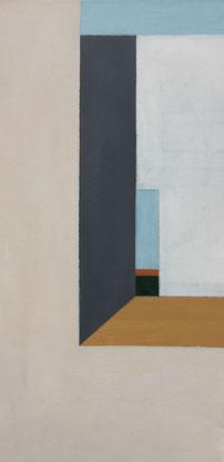 Farbräume 5, Acryl, 60 x 30 cm, 2018