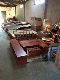 ハワイアン家具工場3
