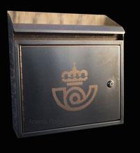 buzon de acero inoxidable de diseño